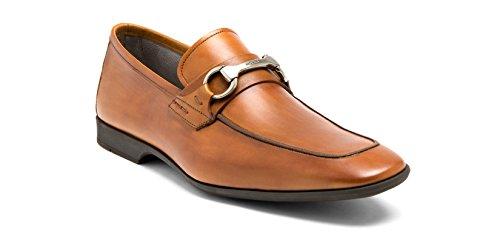 Magnanni Men's Rafa Slip-On Loafer,Cognac,10.5 M US