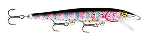 Rapala Original Floater 18 Fishing lure, 7-Inch, Rainbow Trout