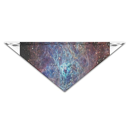 HJudge Dog Bandana Real Nebula Dog Scarf Trendy Cat Accessories for $<!--$5.99-->