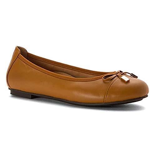 Vionic Spark Ballet Women's Flat Minna Tan vvq0rw5