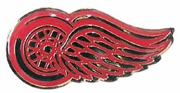 aminco NHL Detroit Red Wings Logo Pin
