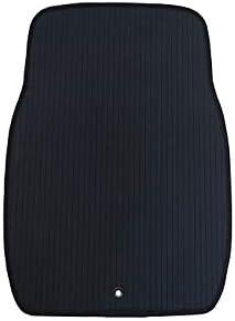 汎用フロアマット ラバーマット Mサイズ (縁取りカラー:ブラック)