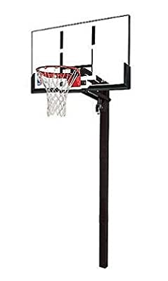 88365 Spalding 54in In-Ground Basketball System with Acrylic Backboard