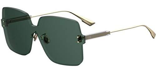 Dior DIOR COLOR QUAKE 1 GOLD/GREEN 99/1/145 women Sunglasses (Dior Sonnenbrille Silber)