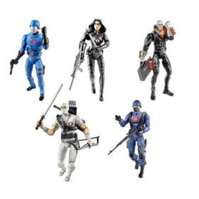 G.I. Joe 25th Anniversary Action Figures Cobra Battle Pack