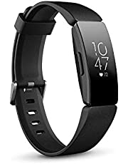 Fitbit Inspire HR Health & Fitness Tracker with Auto-Exercise Recognition, 5 Day Battery, Sleep & Swim Tracking, Black