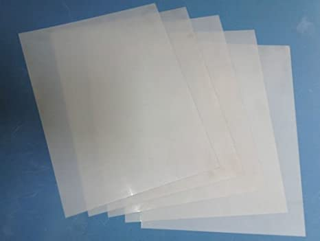 1025 pcs Craft Sheets Laser Proof PET Polyester sheets Mylar 350 micron A4 stencil sheets