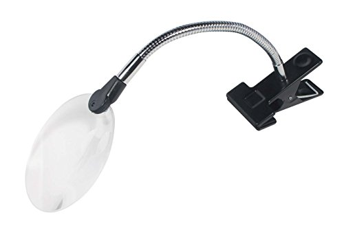 - SE ML3088S Clip-On Rimless Magnifier with Bifocal 2x and 6x Magnification