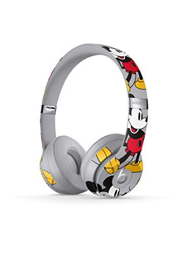 Beats Solo3 Wireless On-Ear Headphones – Mickey's 90th Anniversary Edition – Grey