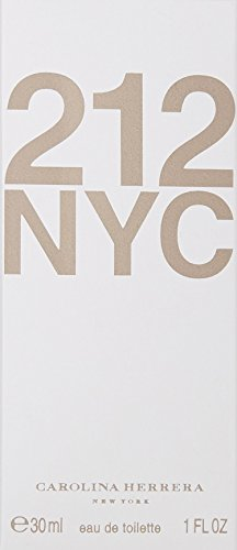 Carolina Herrera 212 NYC For Women, Eau De Toilette Spray, 1 Ounce