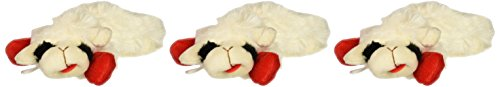 CLASSIC MEDIA Multipet 6-Inch Lamb Chop Dog Toy, 3 Pack