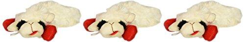 "Bulk Buy: Multipet (3-Pack) Lamb Chop 6"" Toy MP48371"