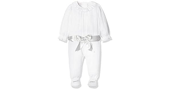 PAZ Rodriguez 005-60107, Pelele Bebé Unisex, Multicolor (Blanco/Vapor), Recién Nacido (Tamaño del Fabricante:1M): Amazon.es: Ropa y accesorios