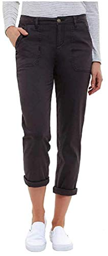 Jones New York Ladies' Chino Pant (Variety) (Charcoal, 14)