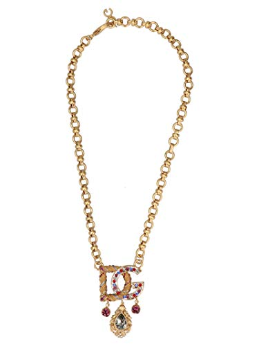 Dolce & Gabbana Gold Necklace - Dolce E Gabbana Women's Wnl6b3w1111zoo00 Gold Metal Necklace