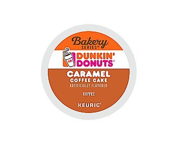 Dunkin Donuts Caramel Coffee Cake Keurig K-Cups (16 count) by Dunkin' Donuts