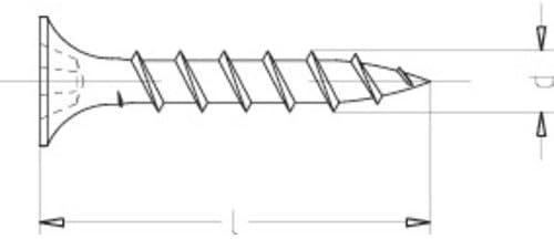 1000 St/ück Schnellbauschrauben m 3,9 x 55 mm Kreuzschlitz Anwendungsbereich Gibskarton Vollgewinde Grobgewinde Phosphatiert