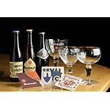 ベルギービールと専用グラス・コースター付きセット(上級編)