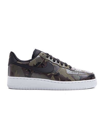 1 Low Mens Shoes - NIKE Mens Air Force 1 '07 Low Camo Shoes Medium Olive/Baroque Brown/Sequoia/Black 823511-201 Size 10