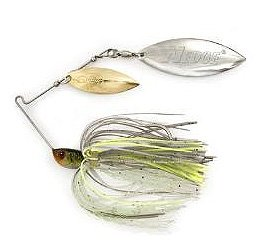 Stanley Wedge Plus Spinnerbait 3/8oz Colorado/Willow White/Chartreuse Md#: (Stanley Wedge)