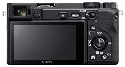 Sony Alpha a6400 Mirrorless Camera: Compact APS-C Interchangeable Lens Digital Camera with Real-Time Eye Auto Focus, 4K Video, Flip Screen & 16-50mm Lens – E Mount Compatible Cameras – ILCE-6400L/B 31tJkfVZAnL
