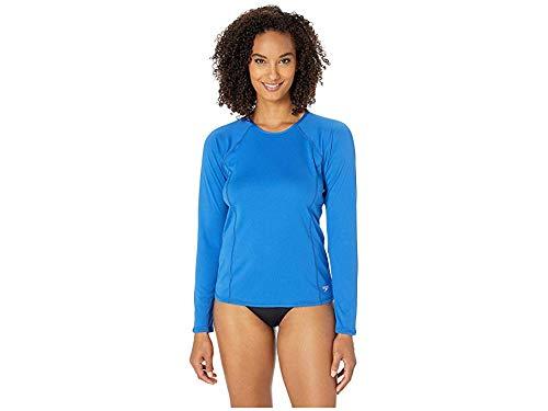 bluee Lolite Speedo Women's Swim Tee  Long Sleeve Rashguard