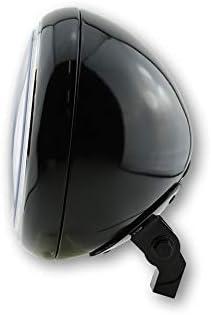 schwarz gl/änzend SHIN YO 7 Zoll YUMA 2 Hauptscheinwerfer