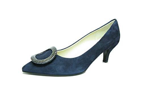 Pour Escarpins Fausto Bleu Di Moda Femme EtnqYfnw