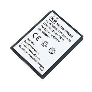 Original Extra Capacity Battery Door - Mugen Power Slim Extended-Capacity Battery for Samsung Galaxy Note