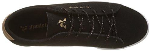 Metallic Beige Women's Coq Gold Le Sportif Black Black Gold Trainers Rose Rose Agate Noir zU4wIBq