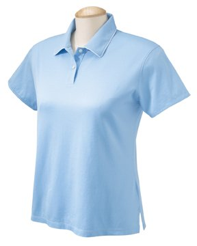 Chestnut Hill CH150W Women's Performance Plus Mercerized Polo M - Jersey Mercerized Polo
