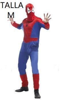 Krazy Toys Disfraz Spiderman Hombre (M): Amazon.es: Juguetes y ...
