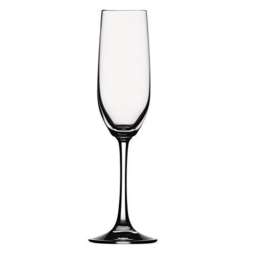 - Spiegelau Vino Grande Champagne Flute, 9-1/9-Ounce, Set of 2