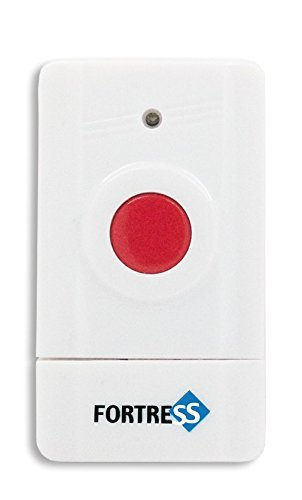 Fortress Security Store (TM) Wireless Silent Panic Button for S02/GSM Home and Business DIY Alarm Security Systems by Fortress Security Store