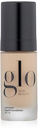 Glo Skin Beauty Luminous Liquid SPF 18 Foundation in Linen | 10 Shades | Sheer Coverage, Dewy Finish | 1 fl. Oz. ()