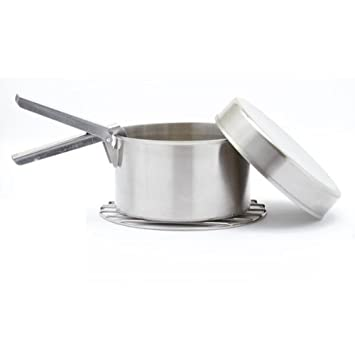 Kelly Kettle Large Cook Set 29 oz. Pot 3.6 Cups .85 ltr Great accessory for your Use with Pot Support or Hobo Stove for more flexability. Pot Support and Hobo Stove NOT included
