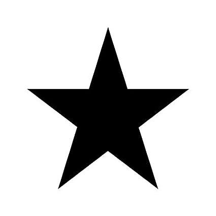 amazon com star shape stencil 12 inch 7 5 mil standard