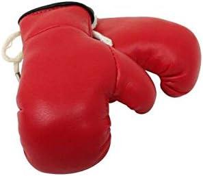 Sportfanshop24 Mini Boxhandschuhe Rot 1 Paar 2 Stück Miniboxhandschuhe Z B Für Auto Innenspiegel Auto