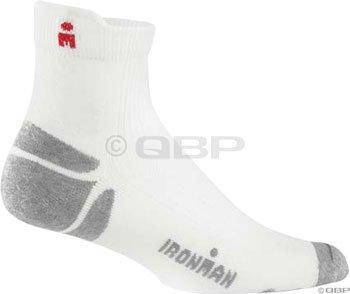 Wigwam Ironman Thunder Pro Quarter Sock White Medium