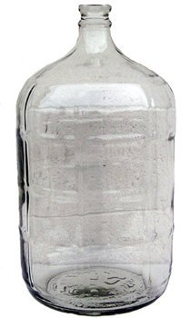 5 gallon glass water bottle - 5