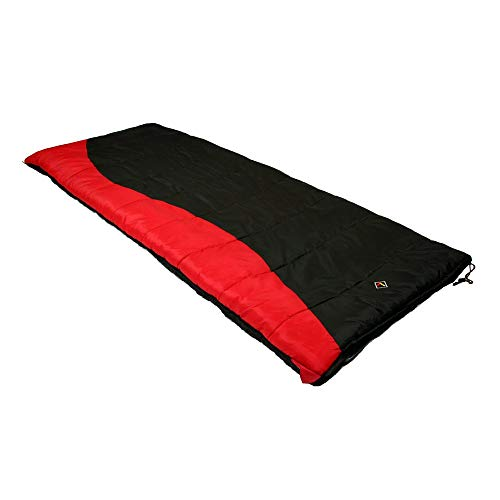 (MISC Black 0Degree Sleeping Bag for Adults 0 Degree Sleep Bag Coldweather 0c Sleepingbag Warm Oversized Camping Outdoors, Synthetic)