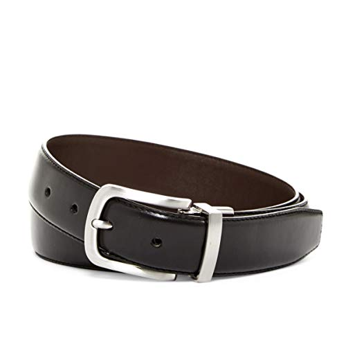 Cole Haan Men's Reversible Feather Edge Leather Belt