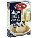 STREITS SOUP MIX MATZO BALL LS, 4.5 OZ