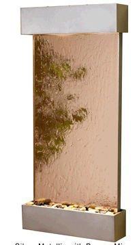 Adagio Whispering Creek Wall Fountain Bronze Mirror Silver Metallic - WCS4541 by Adagio Water Features