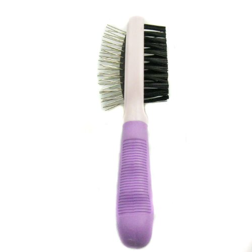 Easy Groom 7-Inch Pet Double Sided Brush, My Pet Supplies