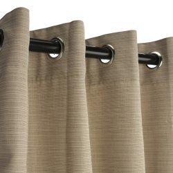 Sunbrella Extérieur Panneau De Rideau Avec œillets En Nickel Pour