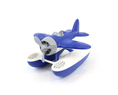 Green Toys Seaplane Bathtub Toy, Blue/White, 9.5'' X9'' X5.25'' by Green Toys (Image #5)