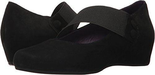 Vaneli Womens Mabel Mary Jane Black Suede Wedge - 7.5 by VANELi