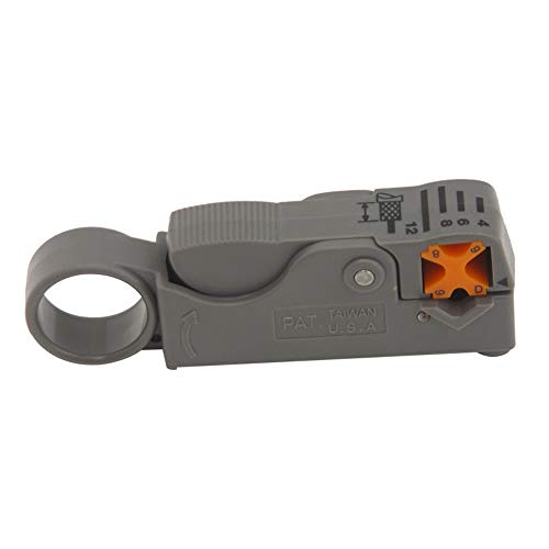 2 Blade Coaxial Cable Stripper for RG58 /59/62 /6 /6QS /3C/ 5C and CLF200 Cable