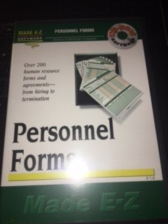 Personnel Forms Software - Personnel Forms Made E-Z